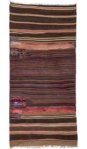 Vintage Decorative Kilim Rug
