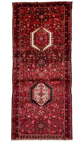 Vintage Rugs, Oriental Rugs, Heriz Runner Rugs, Carpet from Iran