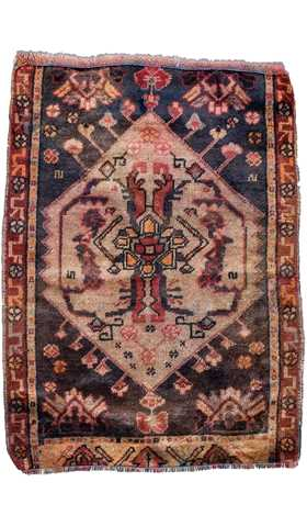 Small Size Vintage Rug
