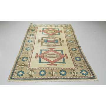 Turkish Vintage Rug-5878 detail 1