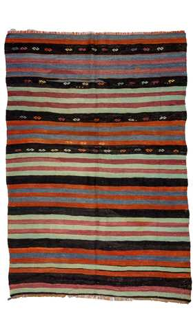 Decorative Turkish Kilim Rug