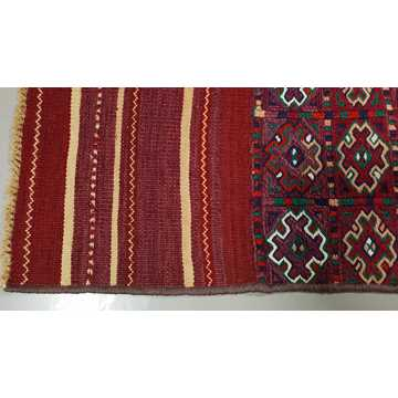 Decorative Hand Embroidery Runner Rug-6328 detail 5