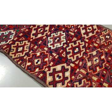 Decorative Hand Embroidery Runner Rug-6328 detail 3