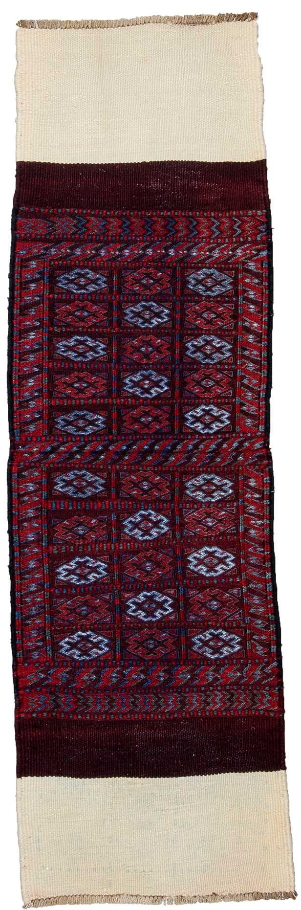 Tribal Hand Embroidery Runner Rug-6329