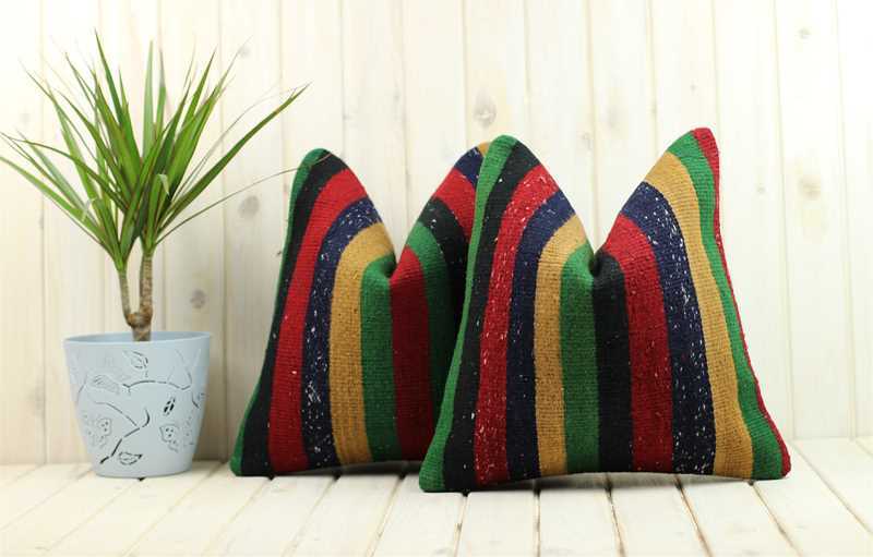 Matching Kilim Pillows-9465