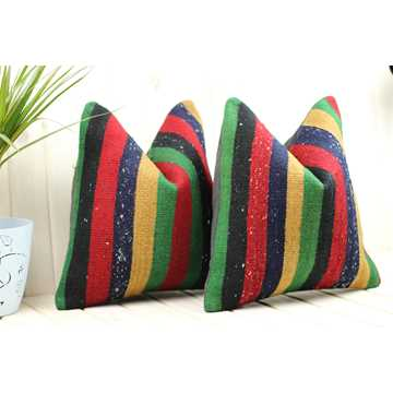 Matching Kilim Pillows-9465 detail 2