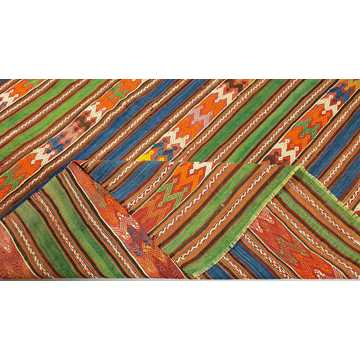 Old Turkish Balikesir Kilim Rug-H5869 detail 5